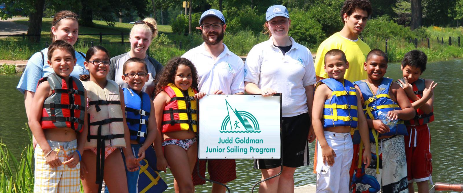 The Judd Goldman Junior Sailing Program