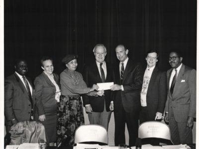 1990 - Check Presentation at CPD