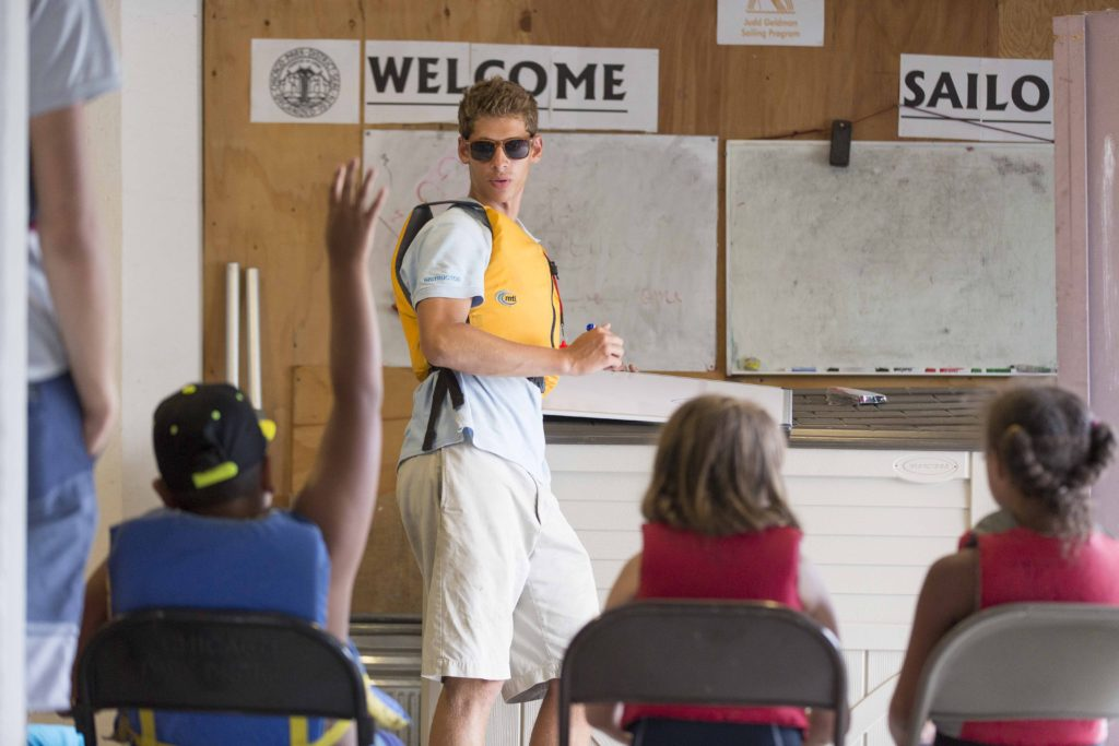 Judd Goldman Junior Sailing Program Classroom Training