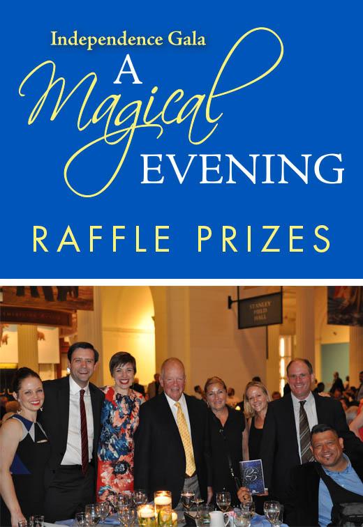 Raffle Prizes