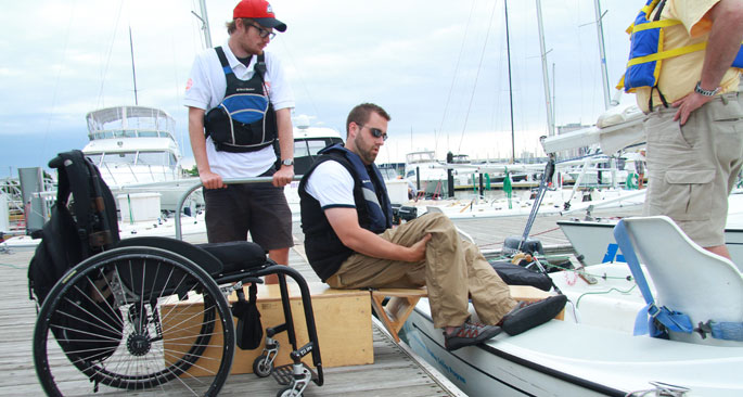Adaptive Sailing Program