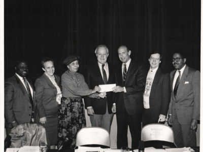1990 - Check Presentation at CPD