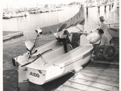 1990 - First Boat