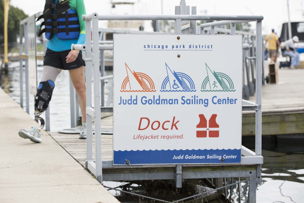 Judd Goldman Adaptive Sailing
